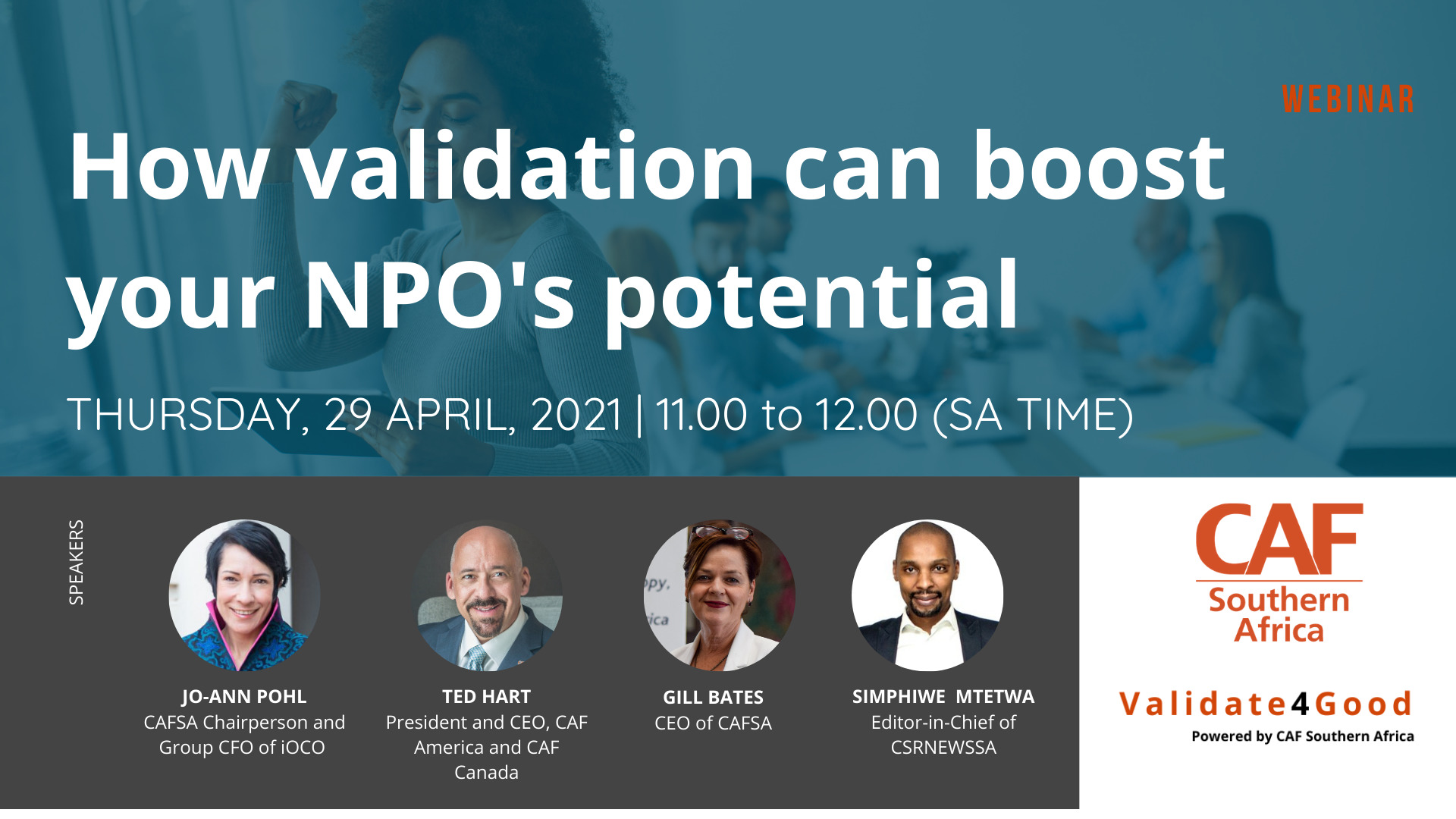 Webinar recording | How validation can boost your NPO's potential 3